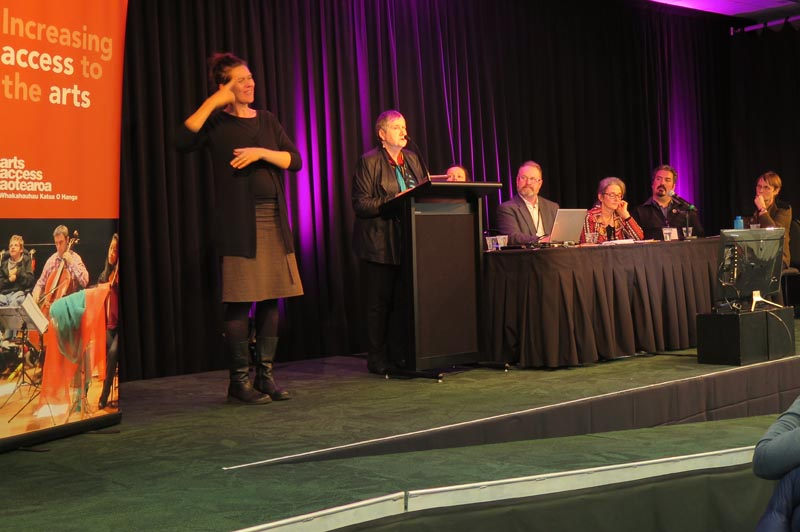 Robyn Hunt joins the Arts Access Aotearoa panel on diversity and disability
