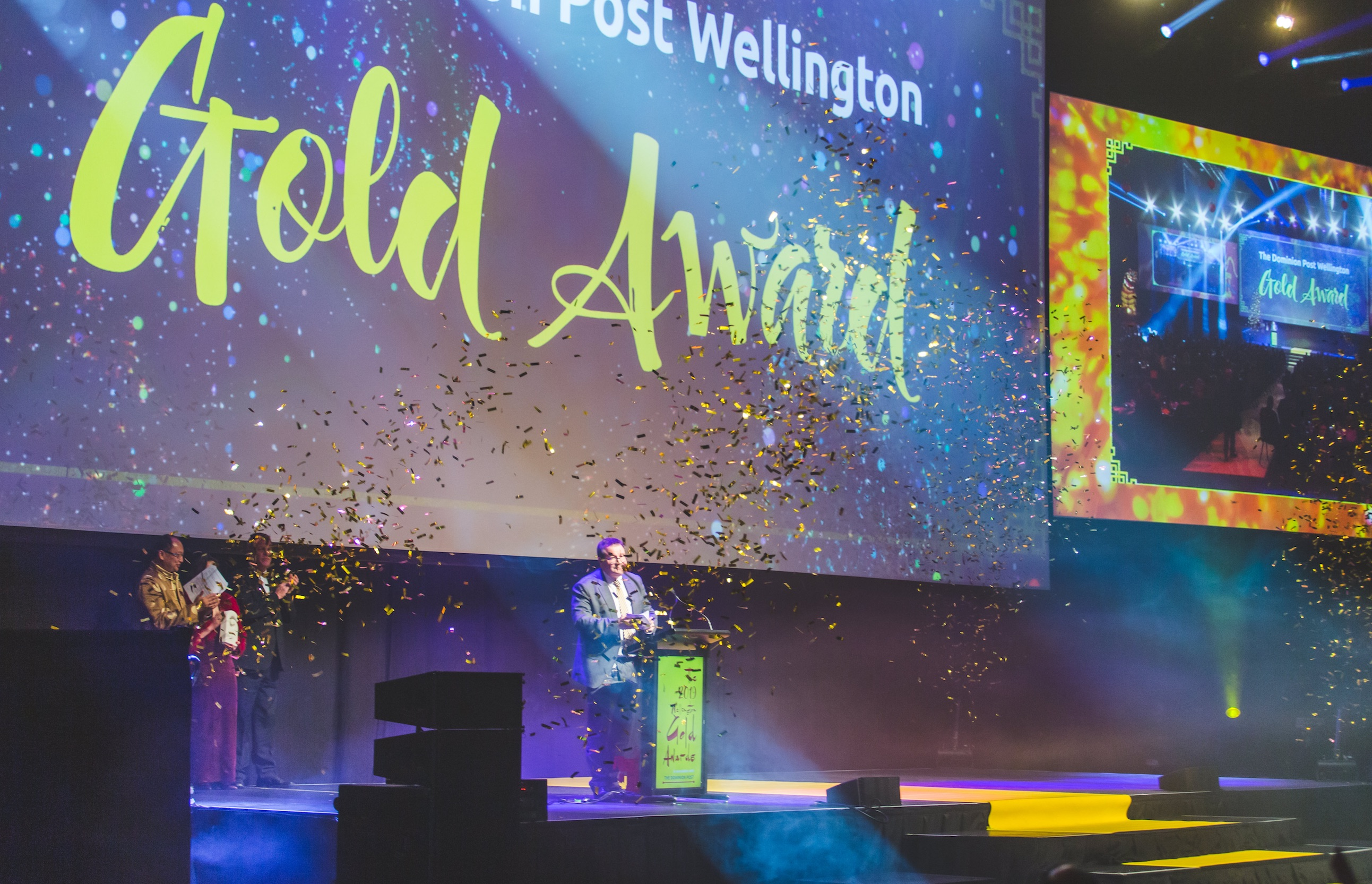 2019 Gold Awards Grant Robertson