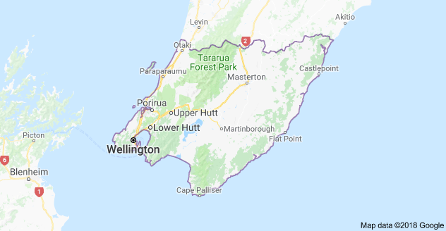 Greater Wellington Map