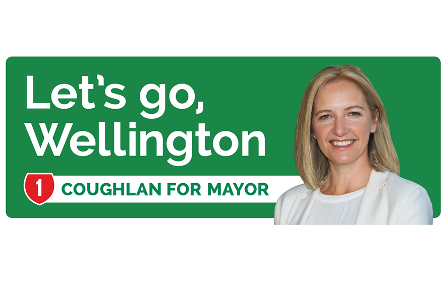 Jo Coughlan Wellington Mayoral Campaign 2016