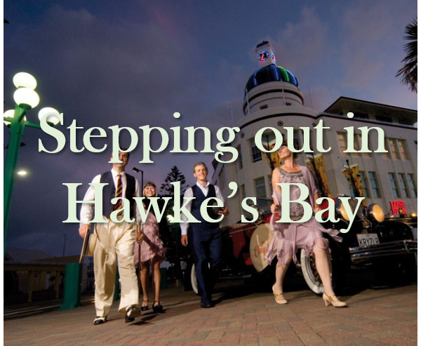 stepping out in Hawkes Bay