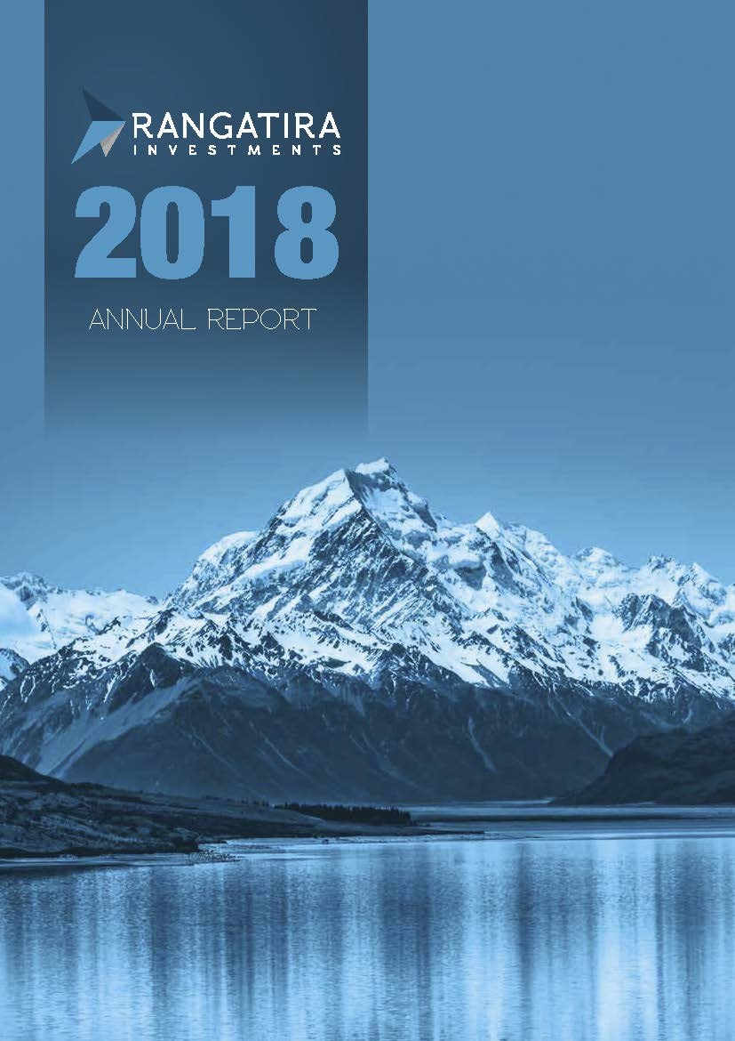 Rangatira Investments Annual Report 2017 Cover