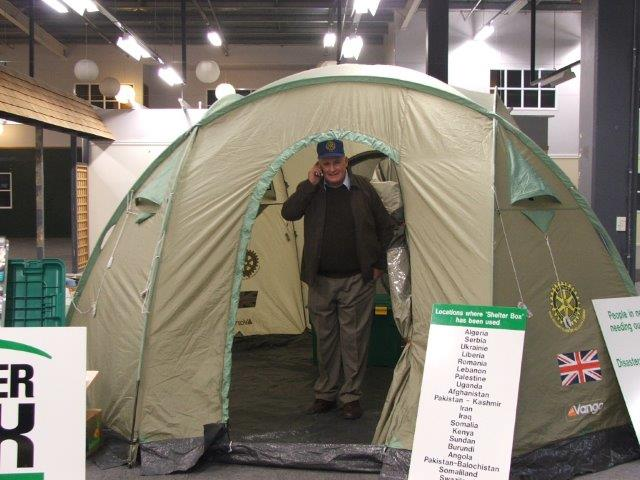 Pres Martin Garcia - Shelterbox appeal for Nepal, June 2015