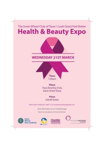Health and Beauty Expo 21 Mar 2018