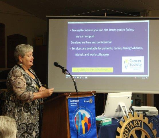 Margaret Alve, Cancer Society 27 Mar 18