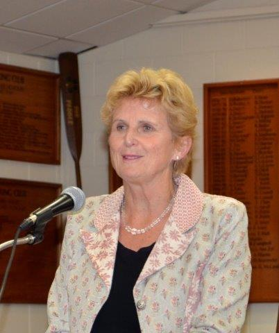 Diana Crossan, CEO Wellington Free Ambulance, 5 May 2015