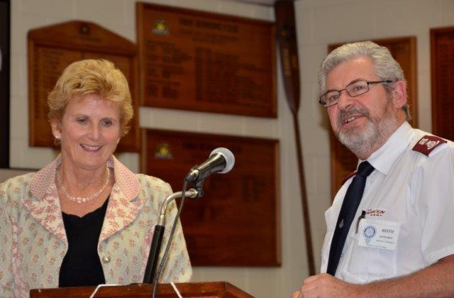 Diana Crossan, WFA and Keith Wray, 5 May 2015