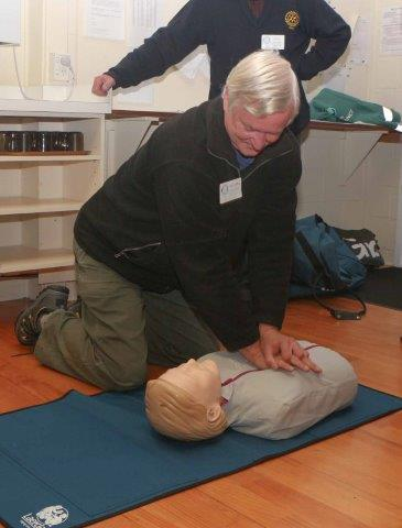 Richard Herbert - CPR training 17 May 16