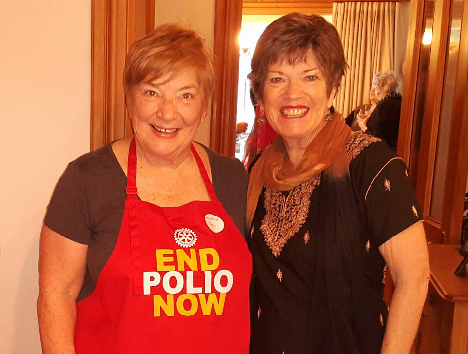 Ann Dale and Elizabeth Sutton, End Polio Now 11 Nov 2016