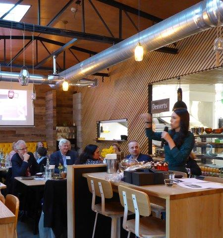 Rotary Business Breakfast Jacinda Ardern 26 Jul 17