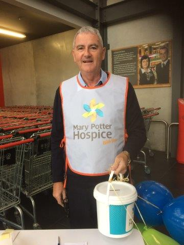 Paul Drummond, Mary Potter Hospice Appeal May 2018