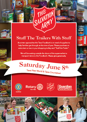 Stuff the Trailer - Tawa Foodbank