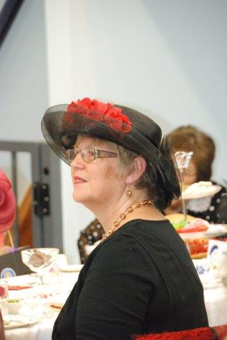 Sue O'Sullivan at Hats and High Tea 2015
