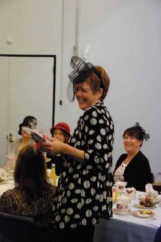 A winner at Hats and High Tea, May 2015