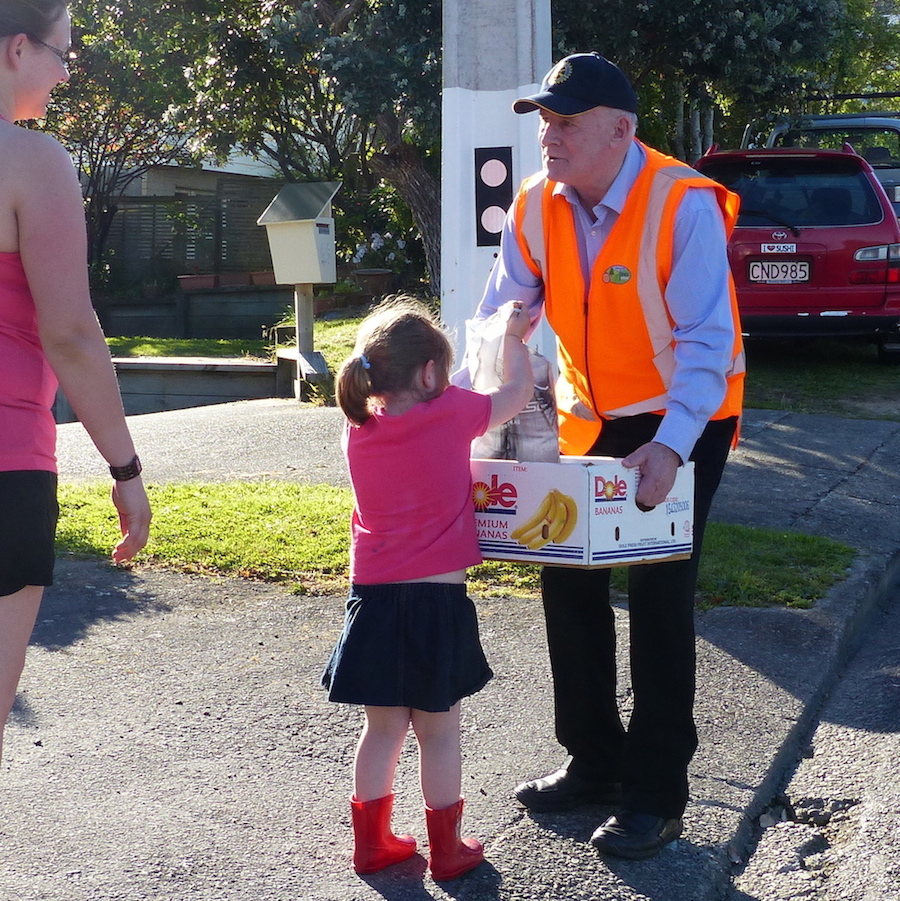 Collecting for Tawa Foodbank