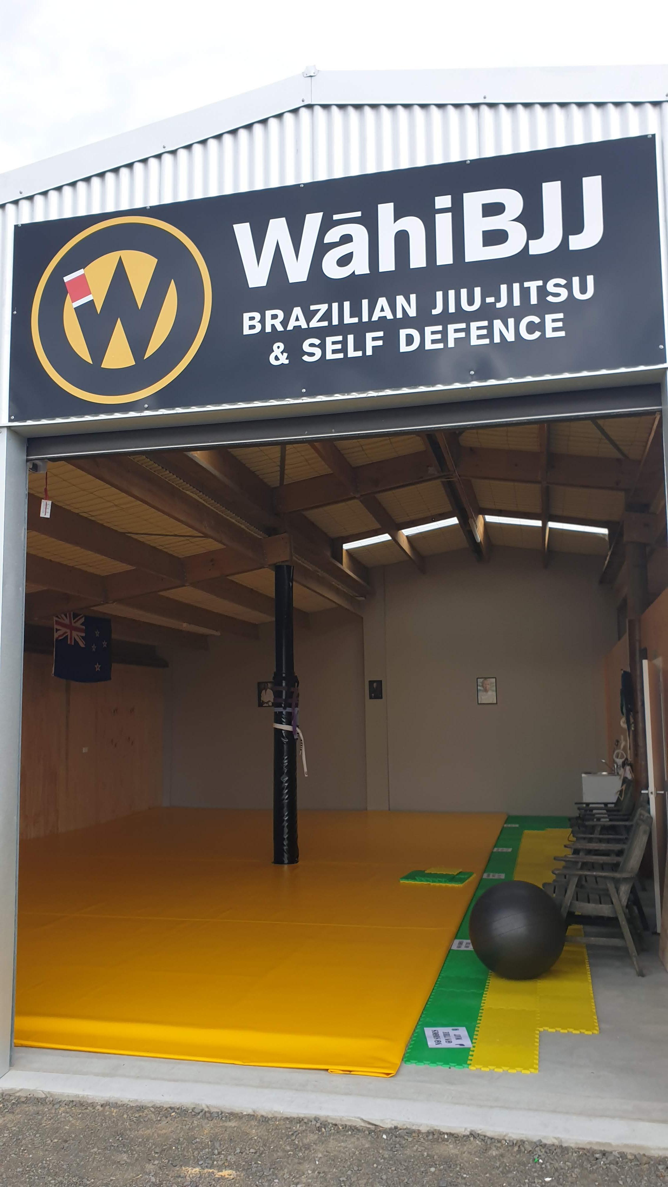 Outside WahiBJJ